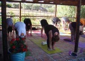 Andalucian Summer Dru Yoga Retreat At Periana Spain Yoga Spain Retreat
