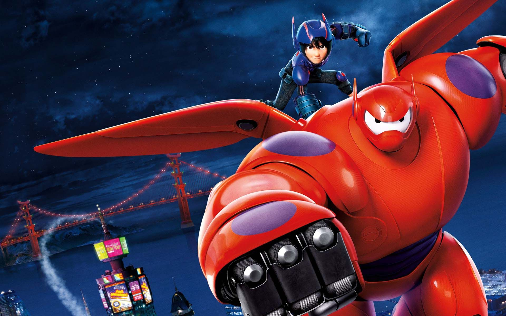 Big Hero 6 Battle Mode Movie HD Wallpaper