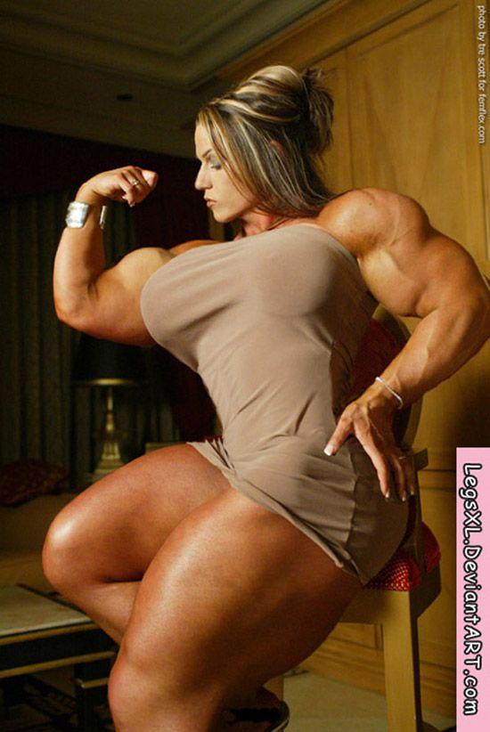 muscular woman porn