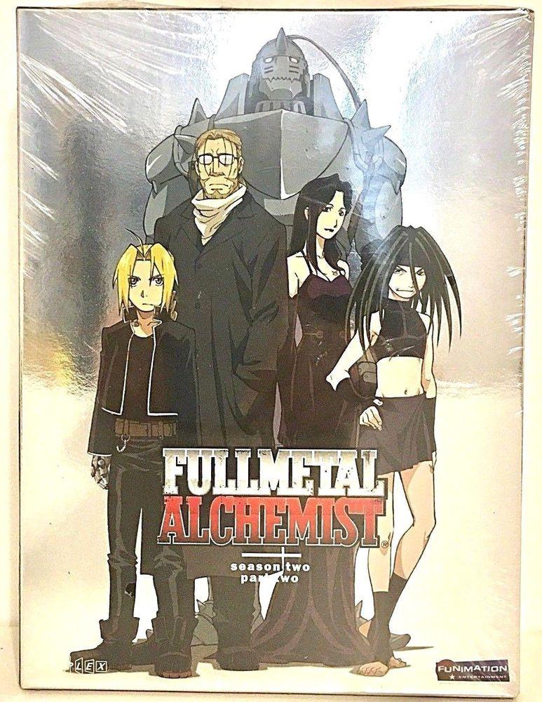 Fullmetal Alchemist Season 2 Part 2 Eps 41-51 3-DVD Anime ...