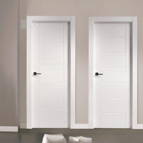Puertas lacadas en blanco buscar con google puertas for Puertas paso blancas