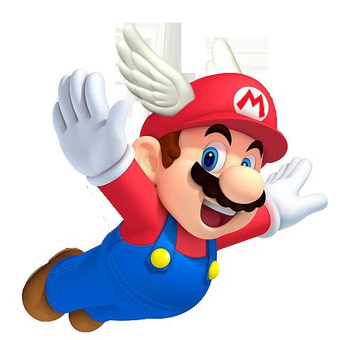 wing-cap-mario.png (480×480)   Super Mario Bros ...