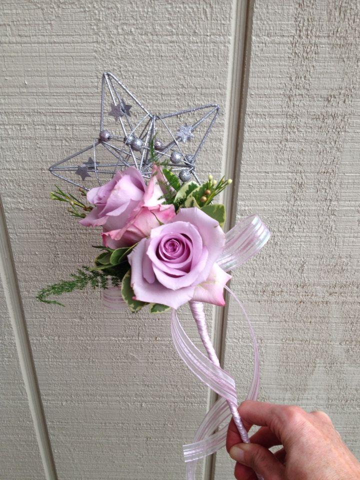 Flower Girl Wand Bridesmaid Flowers Flower Girl Wand Flower Girl Bouquet