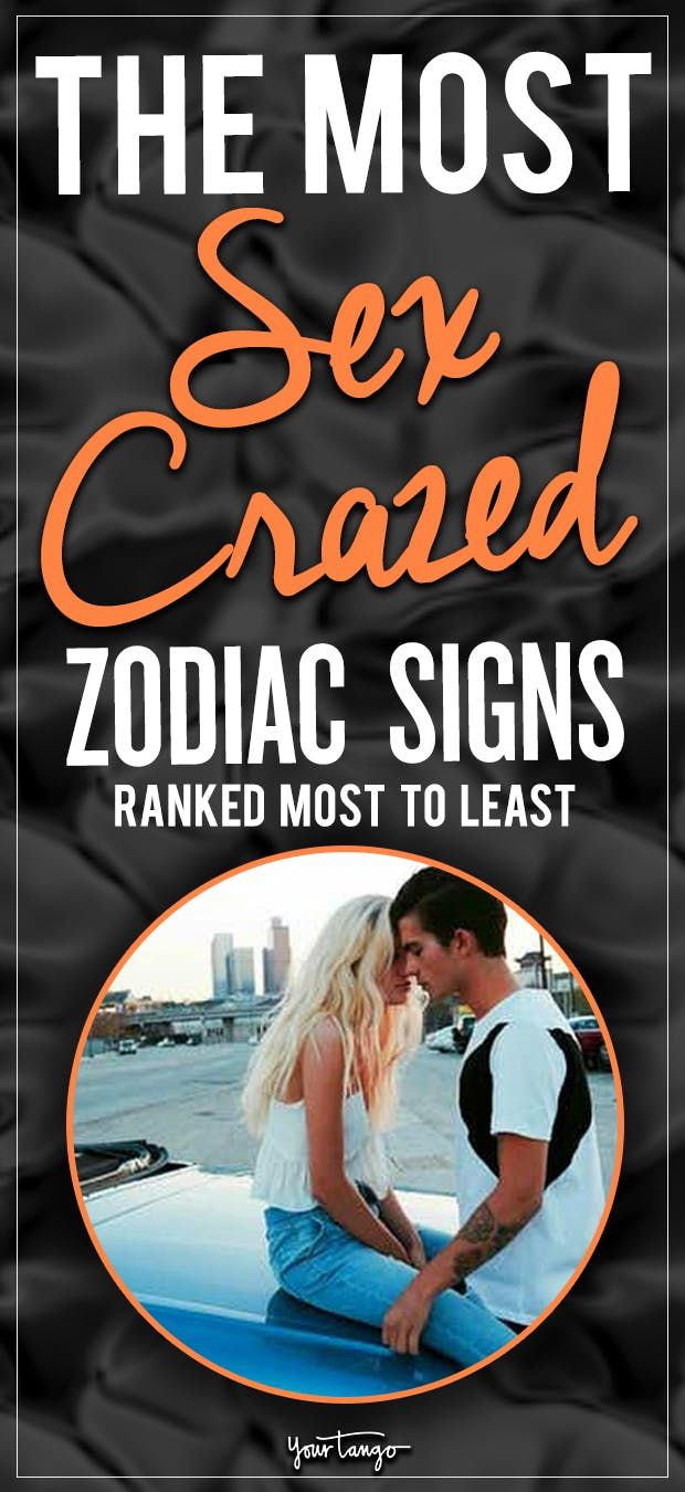 These 4 zodiac signs can have sex anytime, anywhere