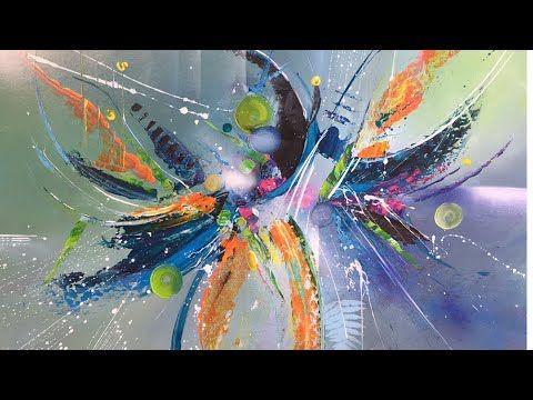 Youtube En 2020 Peinture Abstraite Techniques De Peinture Abstraite