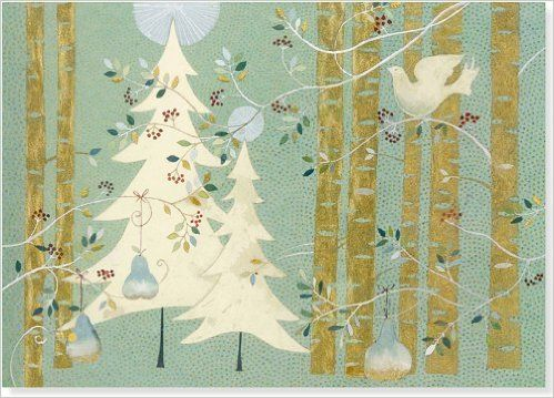 Pines and Birches Deluxe Boxed Holiday Cards (Christmas Cards, Holiday Cards, Greeting Cards): Peter Pauper Press Inc.: 9781441311962: Amazon.com: Books