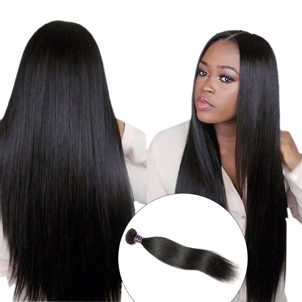 brazilian straight hair weave, 100% human hair bundle, 1pc