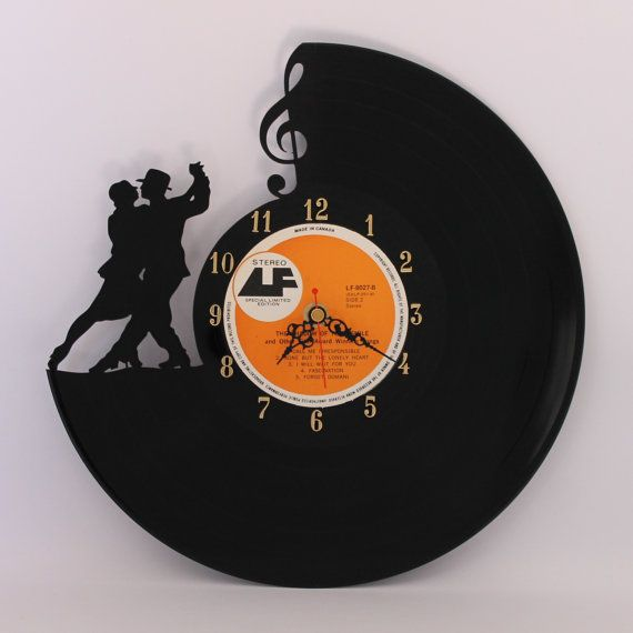 Unique Vinyl Record Clock Made From A Pre Loved 12 Lp All My Clocks Are Carefully And Intricately Carved By Hand No Laser Or Cnc Cutter