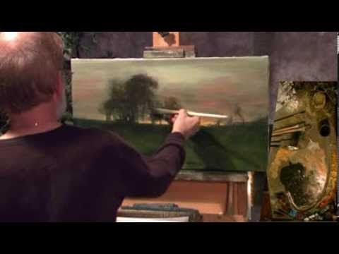 How to oil paint with Dennis Sheehan