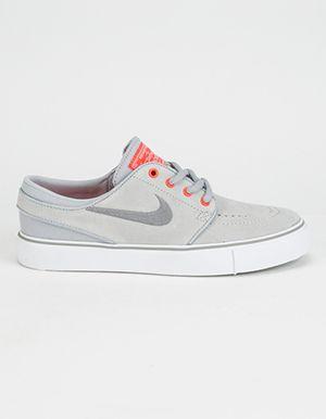 NIKE SB Stefan Janoski Boys Shoes Grey  55a740a677a3