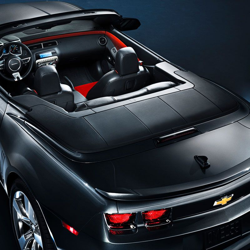 When The Convertible Top Is Down This Tonneau Cover Provides A