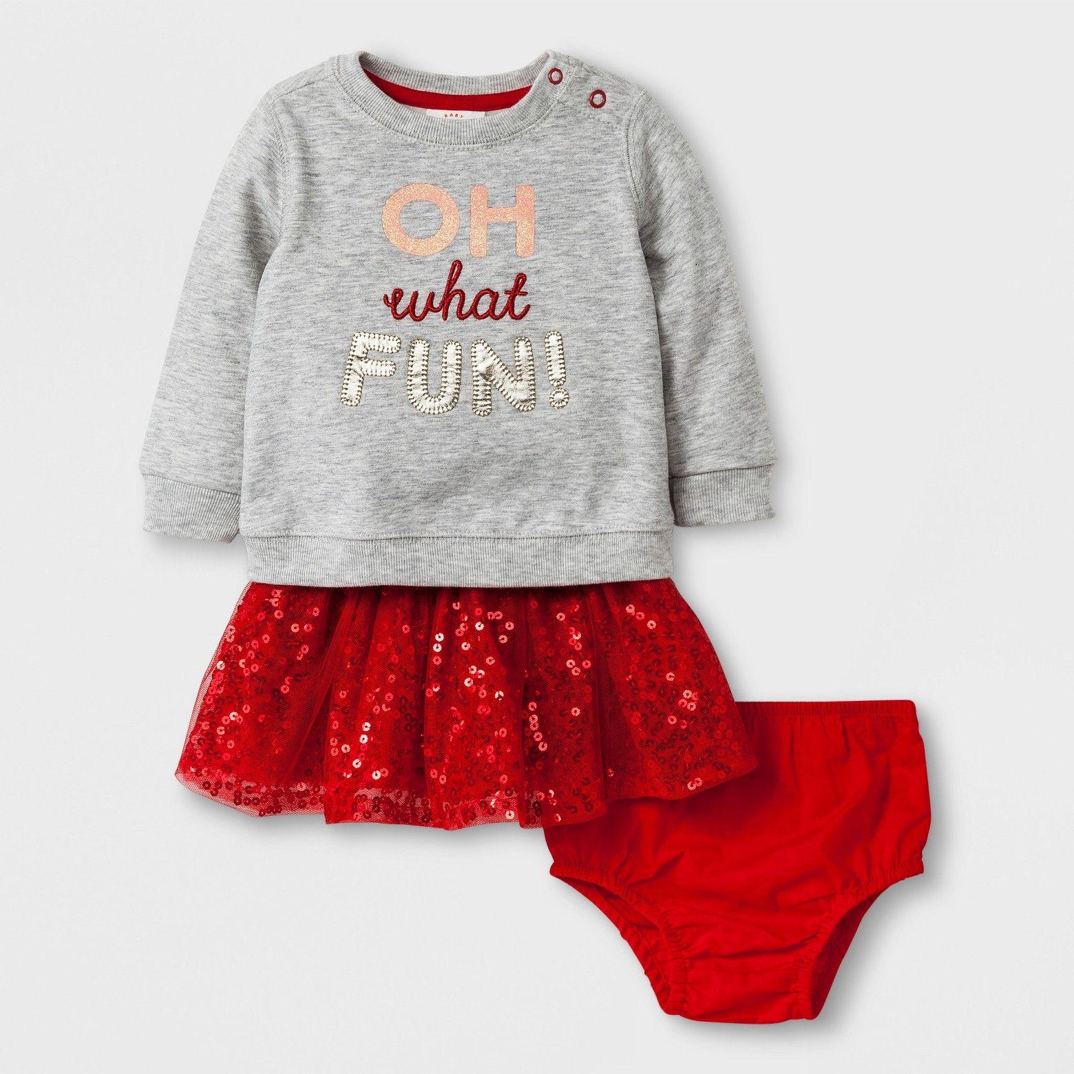 240d1d76e0de W17 | Holiday Sweatshirt w/ Sequin Skirt | Cat & Jack | $15.99 | Cat ...