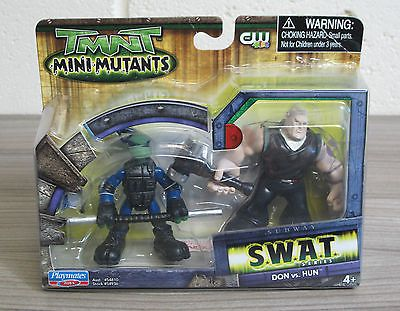 Don vs hun - tmnt mini #mutants - teenage #mutant ninja #turtles figures #playmate,  View more on the LINK: http://www.zeppy.io/product/gb/2/291853852632/