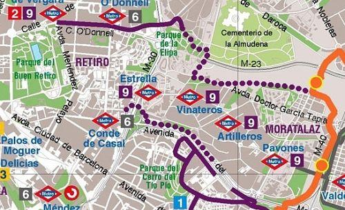 Carril Bici Maps Distrito Moratalaz Con Imagenes Electricistas