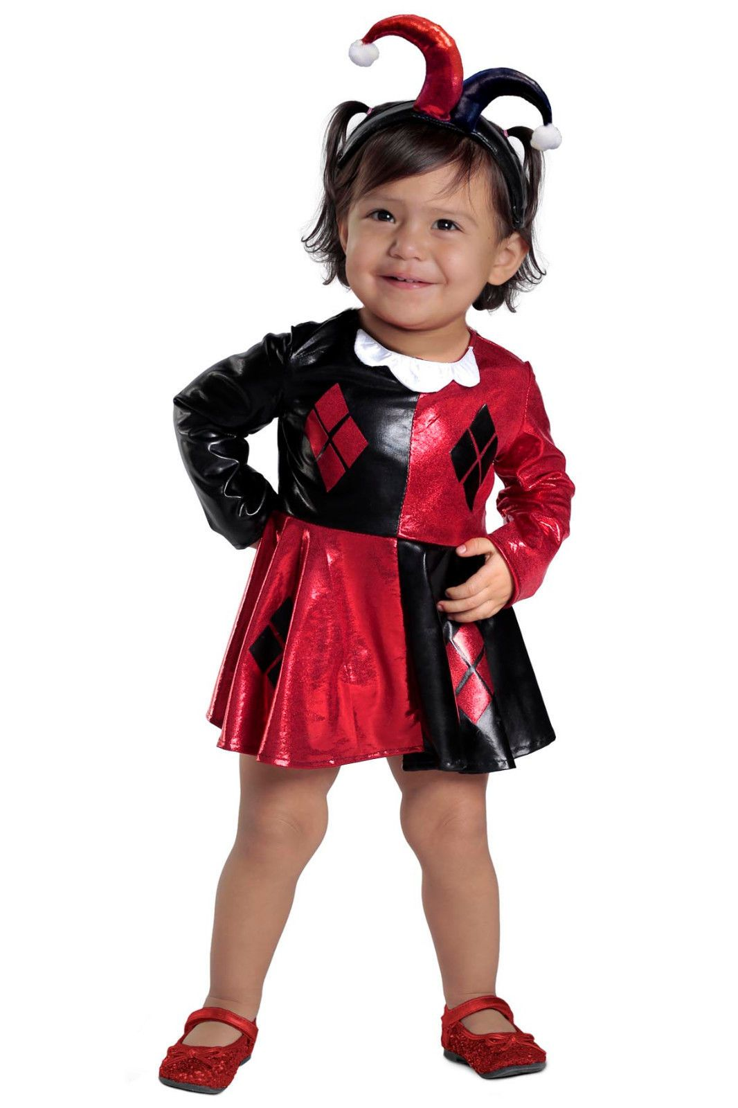 f381dddaa8a5 Details about Harley Quinn™ Costume DC Comics Super Hero Girls Baby ...