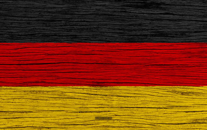 Download Wallpapers Flag Of Germany 4k Europe Wooden Texture