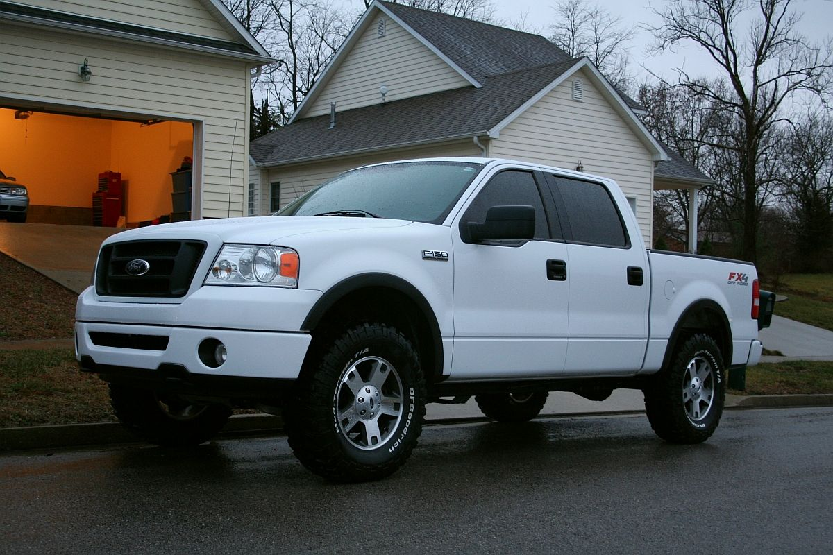Image result for 2005 ford f150 fx4 with 35x1250r18 on