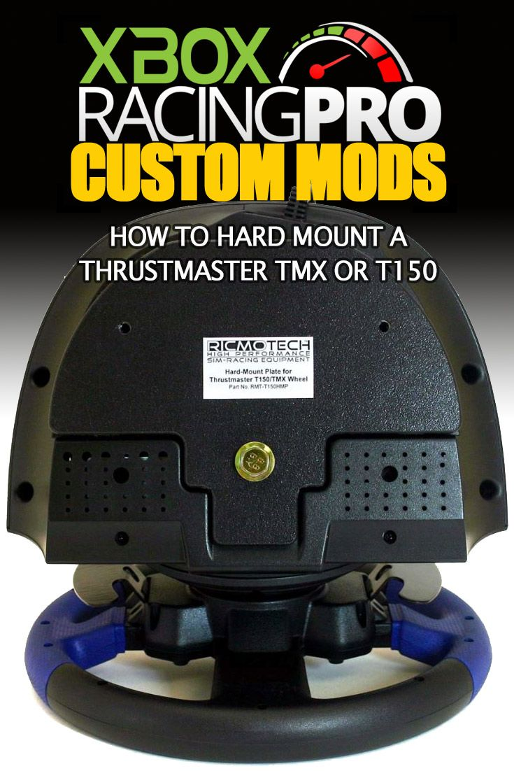 The Thrustmaster TMX and T150 are table clamp only, but