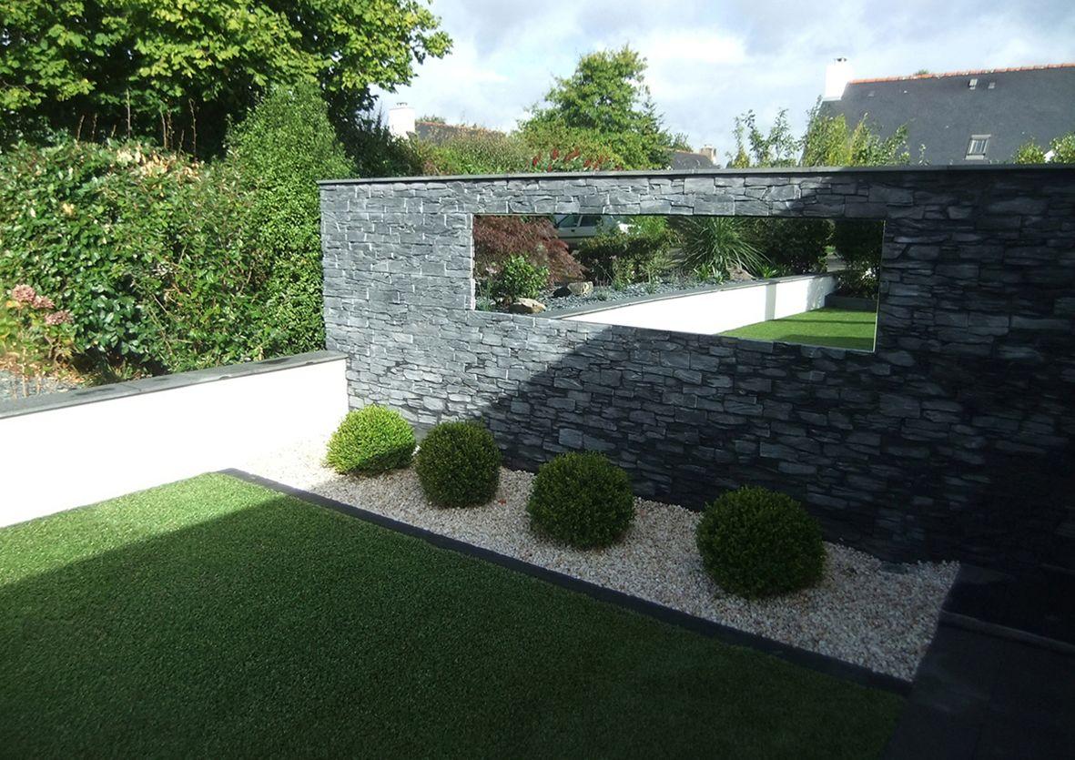 Jeux de reflets paysagiste jardins divers vannes miroir - Miroir jardin ...
