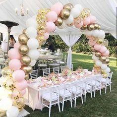 DIY Garland Kit | 40 Pieces | Princess Pink Confet