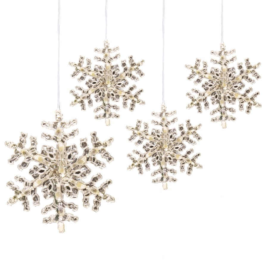 GE StayBright 52-Count Sparkling White Icicle LED Plug-In Christmas ...