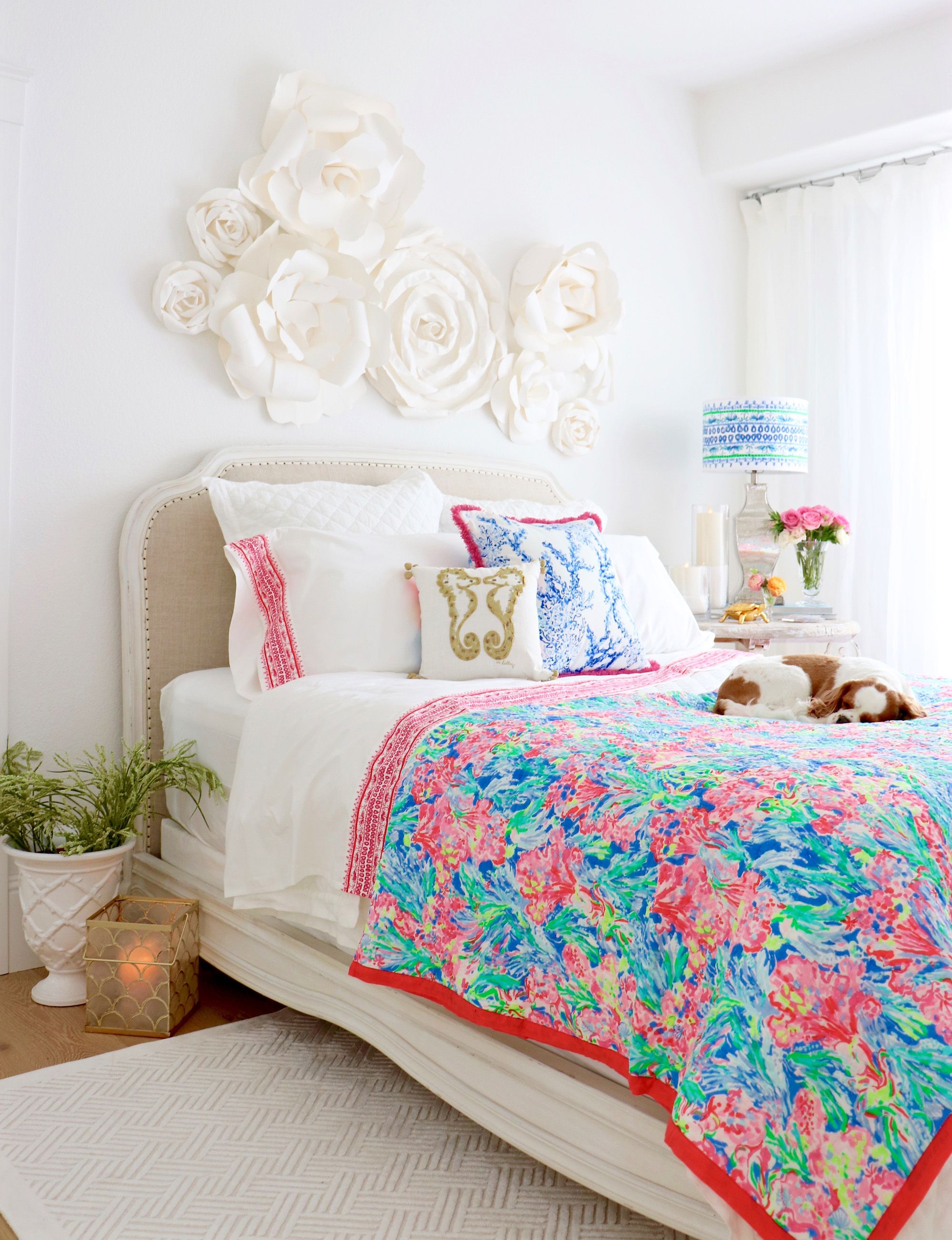 Lilly Pulitzer Elephant Appeal Duvet Cover & Sham in 2020