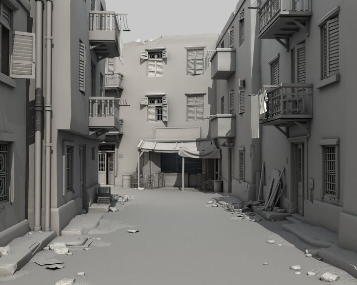 modeling environments in maya - Google Search | 3d