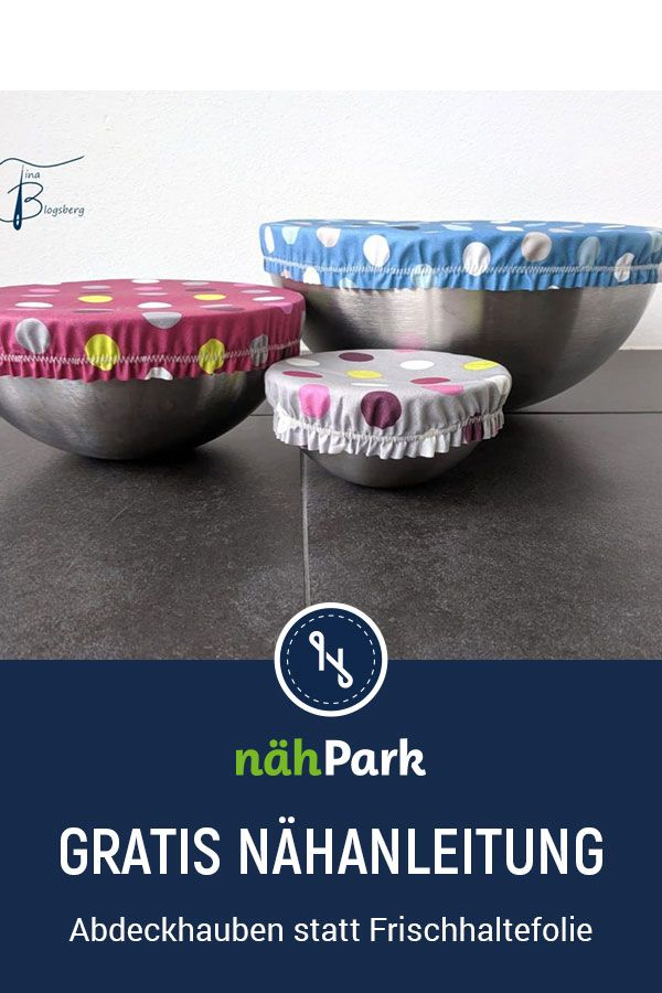 Photo of Avoid plastic waste – covers for bowls instead of cling film.