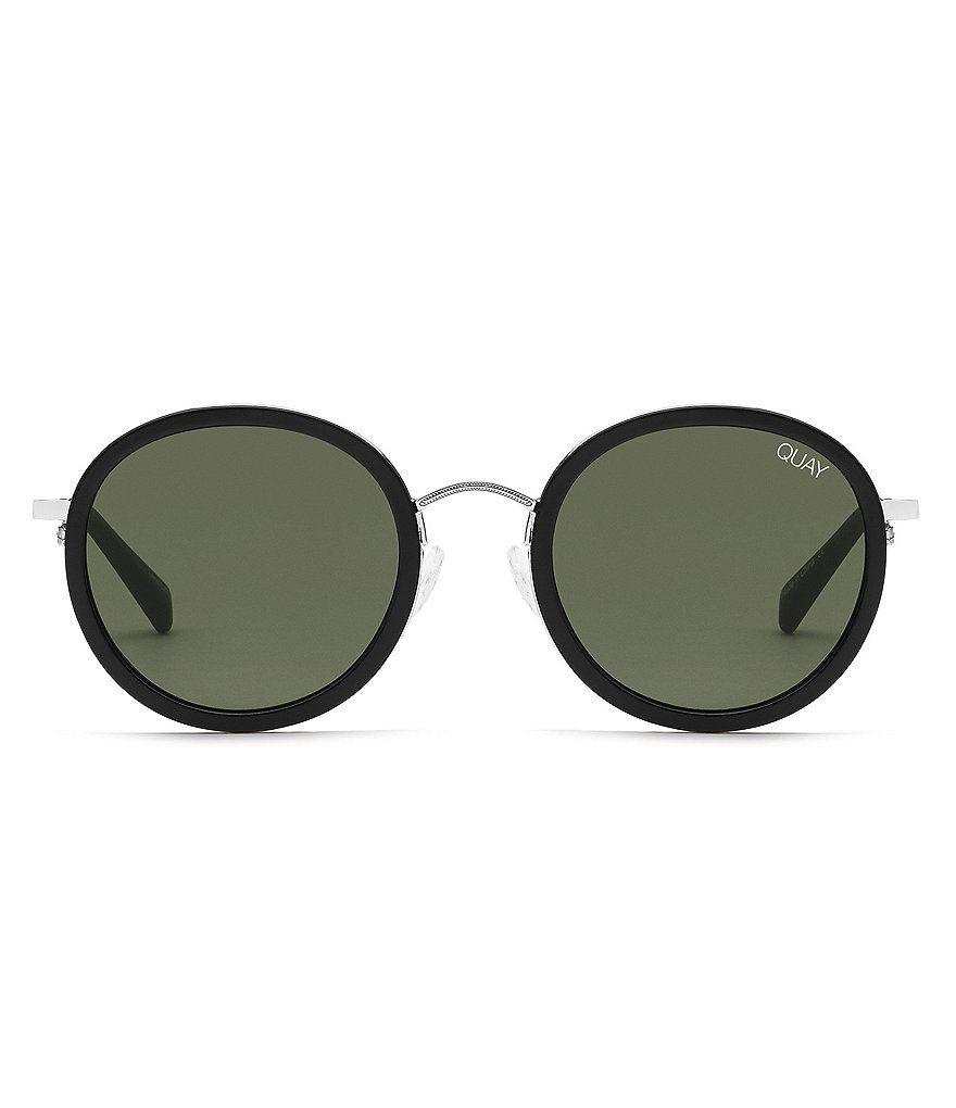 Quay Australia Firefly Incognito Round Sunglasses Black Round Sunglasses Quay Australia Round Sunglasses
