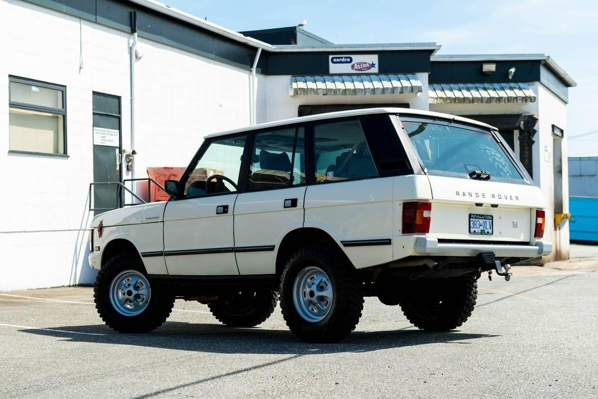 1990 Range Classic 70's back date 300 TDI Diesel Defender