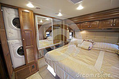 Recreational Vehicle Interiors Recreation Vehicle Bedroom