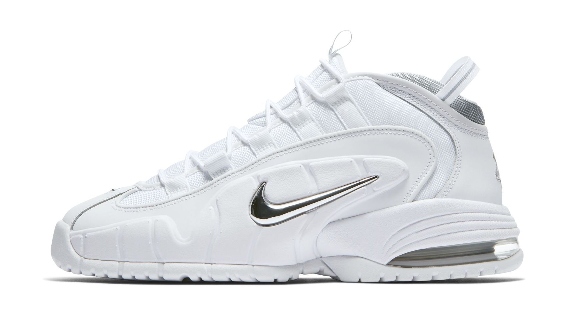 Official Images  Nike Air Max Penny 1 White Metallic  6913f5909