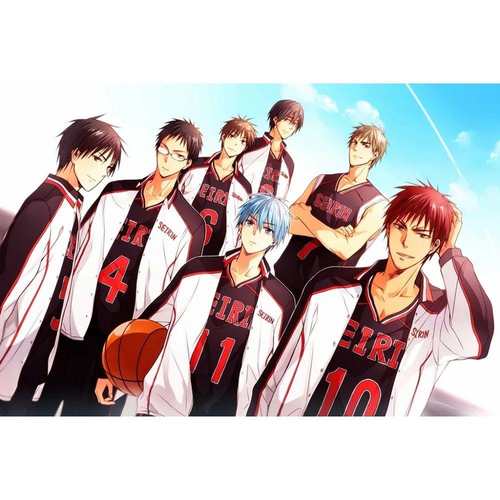 Kuroko No Basket Last Game Anime Art Poster In 2021 Kuroko Kuroko S Basketball Kuroko No Basket