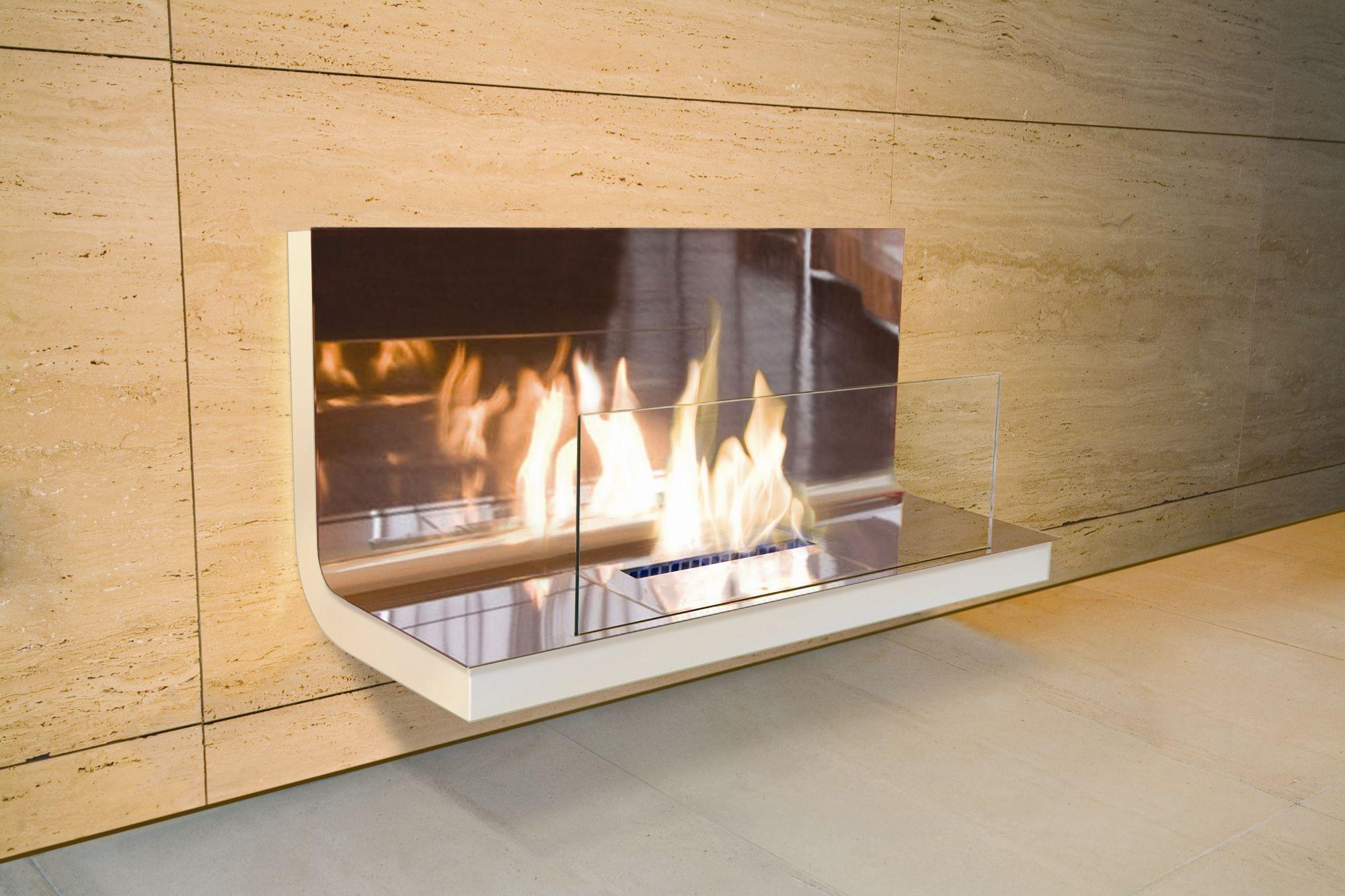 Lauderhill Wall Mounted Electric Fireplace Ethanol Fireplace