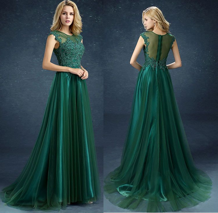 Rochii De Seara Lungi Verde Cu Trena Rochite Prom Dresses