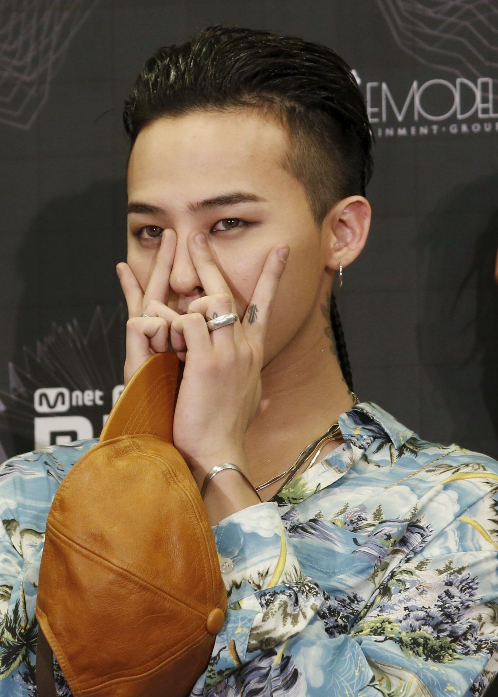 G dragon hairstyle mama 2015