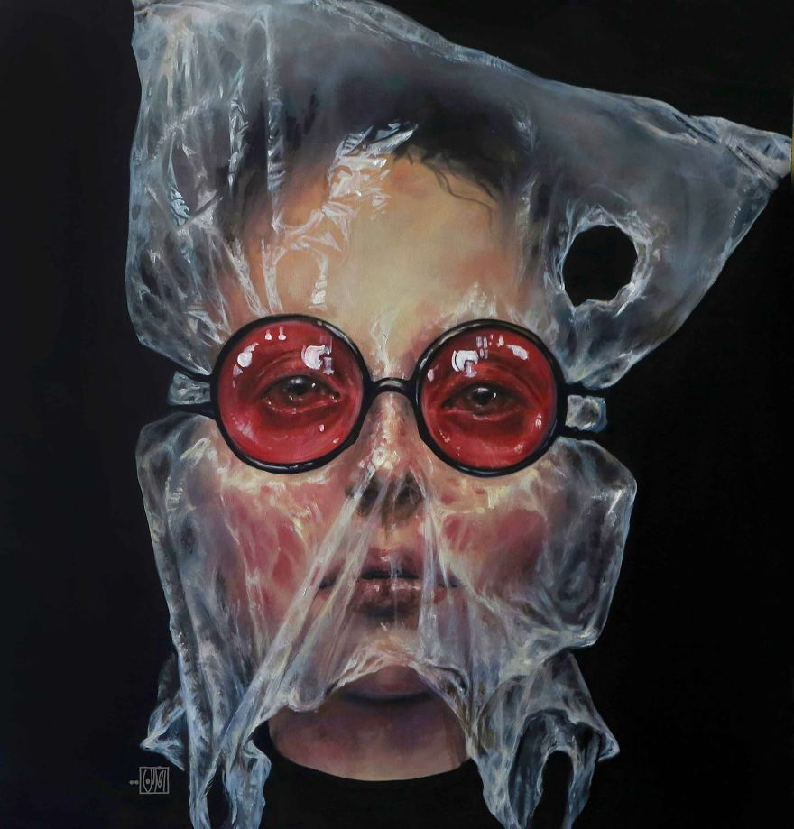 Surreal Portraits Of Women Painted By An Iranian Artist