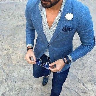 177b401f56a3b Resultado de imagen para como combinar zapatos azules hombre