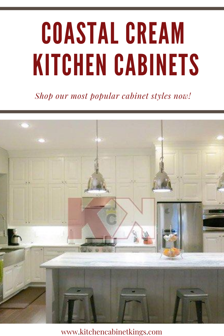 Coastal Cream Cabinets In 2020 Kitchen Cabinet Kings Kitchen Frameless Kitchen Cabinets