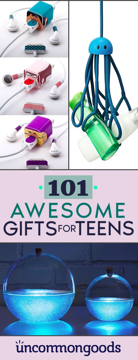 Gifts for Teens: 20 Cool Gifts for People Under 20 - | Gift ideas ...