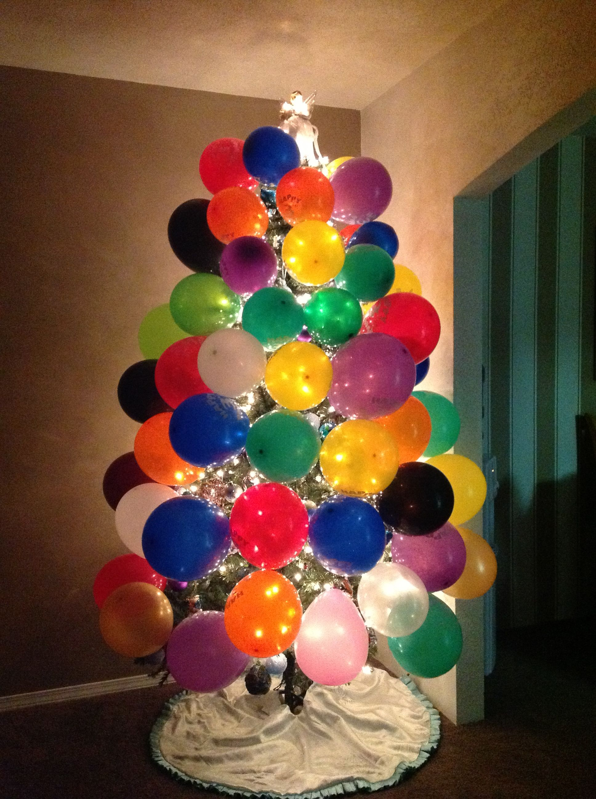 Christmas Birthday Image.Christmas Birthday Tree This Is A Great Idea If Someone Has