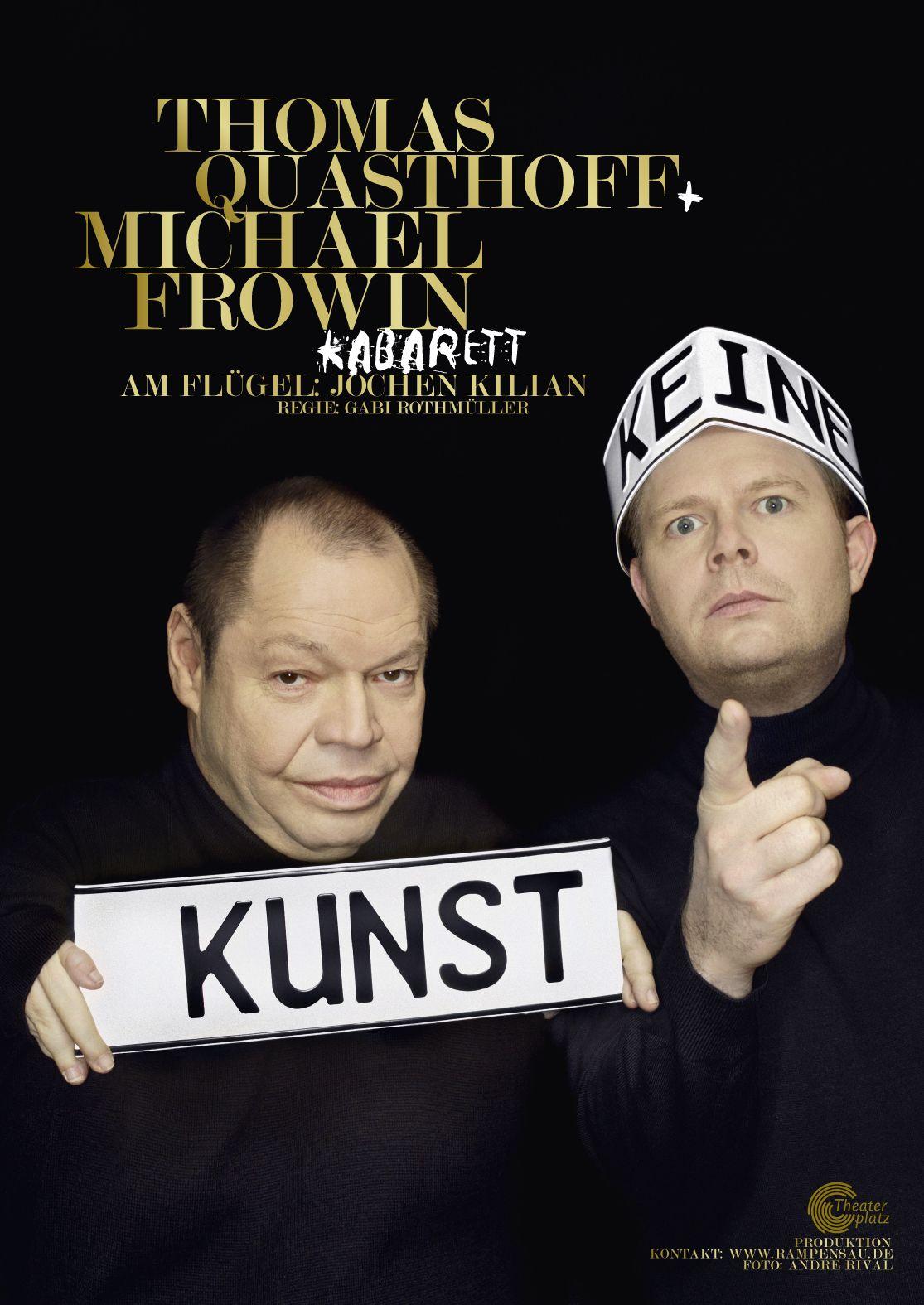 Keine Kunst - Frowin + Quasthoff Kabarett