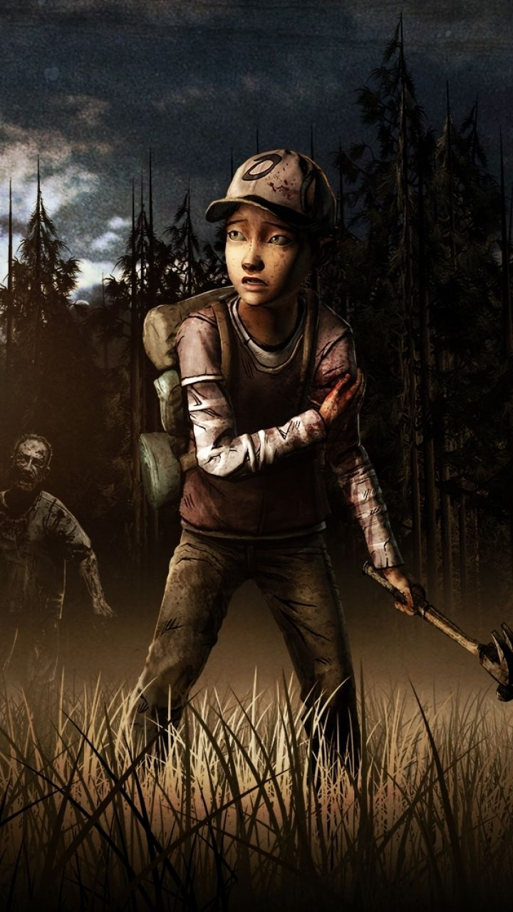Iphone 5 Video Game The Walking Dead Wallpaper Id 550222