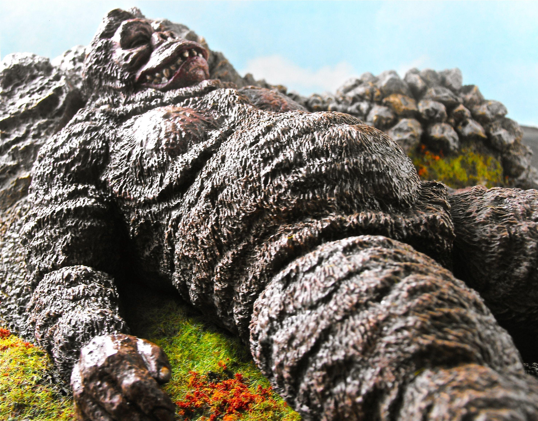 Resin Kit Of King Kong From King Kong Vs Godzilla
