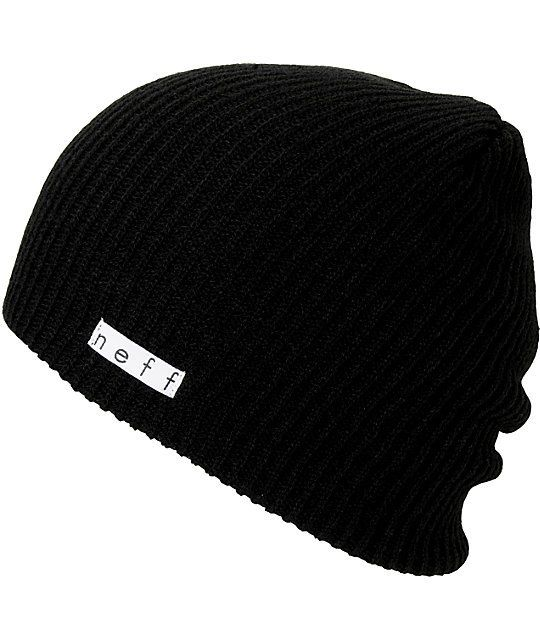 Neff Daily Slouch beanie for cold nights and good times. This neff beanie  is a soft and stretchy knit hat that goes with any outfit and fits right  under ... 3f03bf0b1