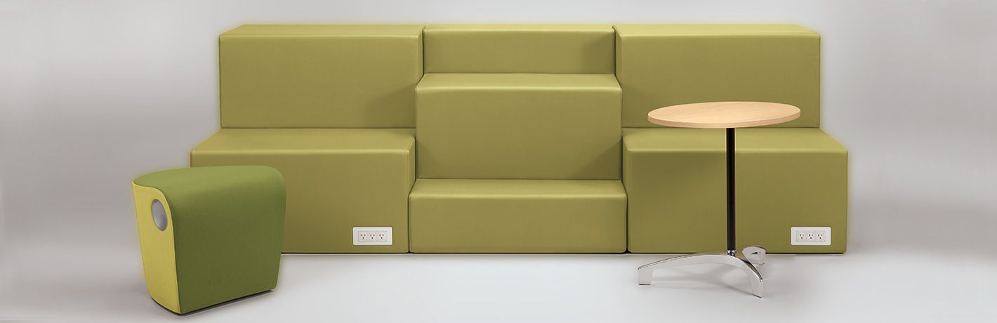 Rise Collaborative Lounge Seating Allsteel Work Spaces