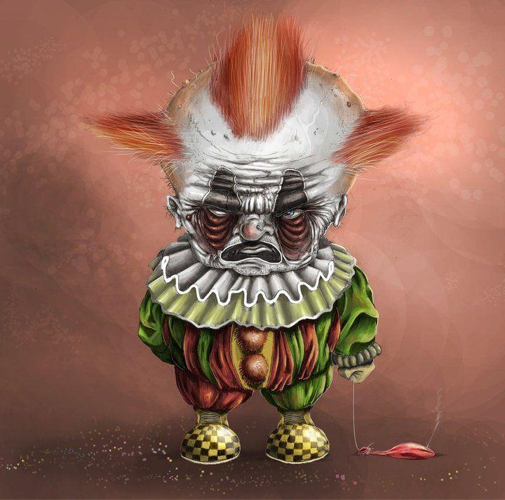 foto de Clown horror by Teresa Pauley on Clowns Freaky clowns