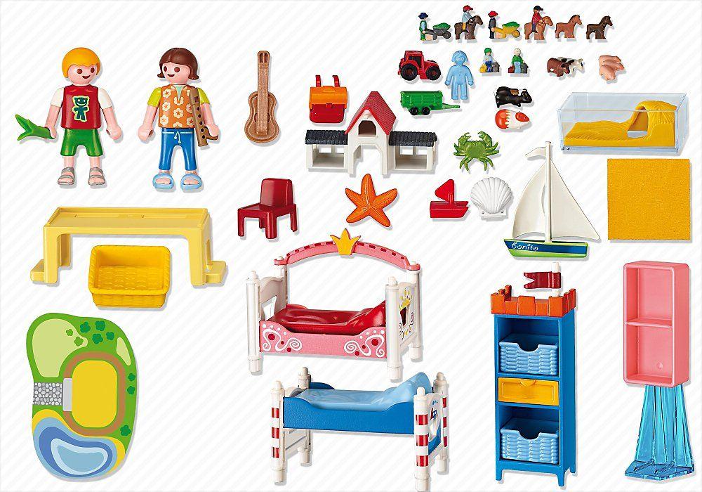 Playmobil 5333 jeu de construction chambre des - Playmobil chambre enfant ...