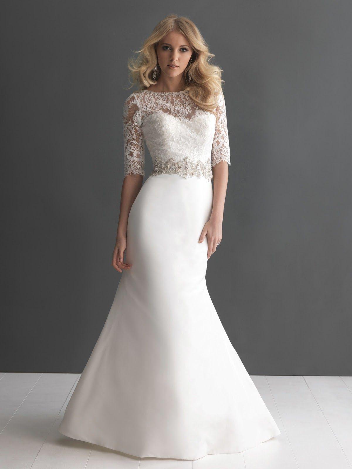 FALL WEDDING DRESS Necklines