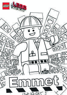 The Lego Movie Free Printables, Coloring Pages, Activities and ...
